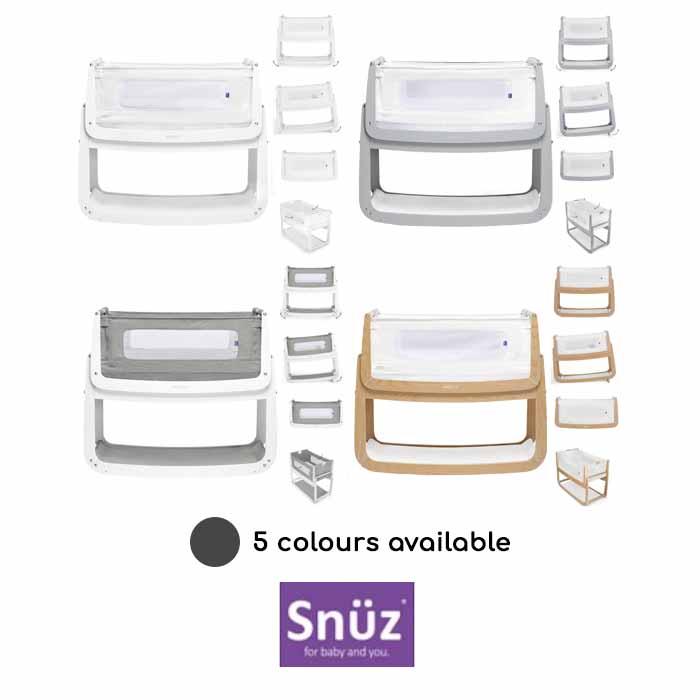 Snuz SnuzPod4 Bedside Crib 3 in 1 With Mattress