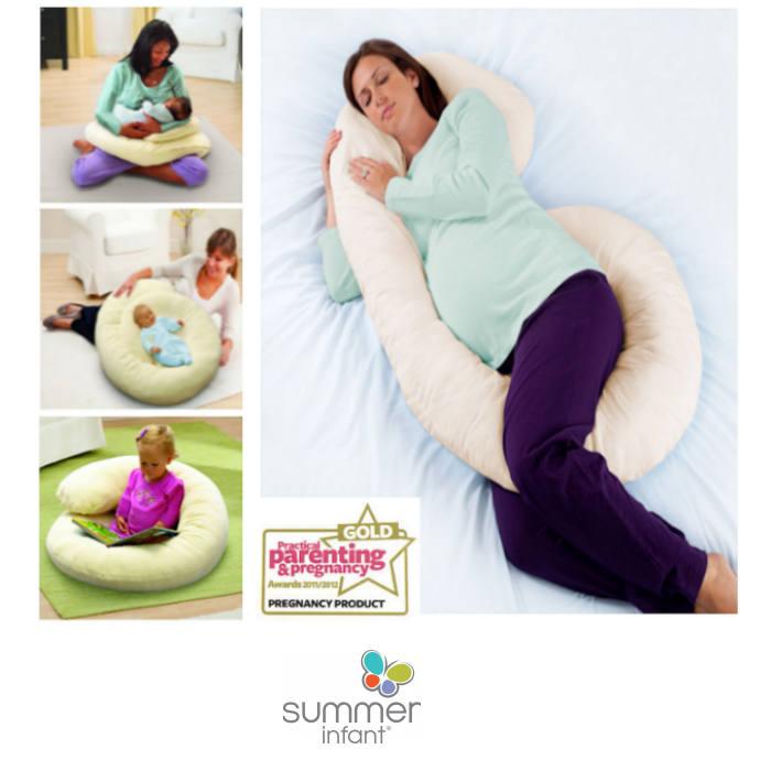 Summer Infant Ultimate 4 In 1 Large Body Comfort Nursing & Pregnancy Pillow