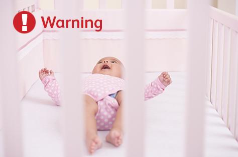 Cot bumper warning image 474