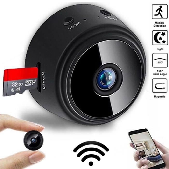 A9 Mini HD Wi-Fi Motion Sensor Security Camera