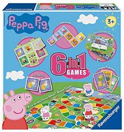 Ravensburger Peppa Pig 6 in 1 Games Set 250