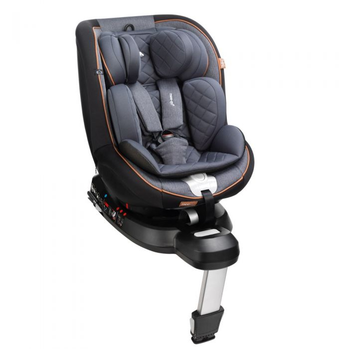 Meego Swirl i-SIZE Car Seat - Caramel