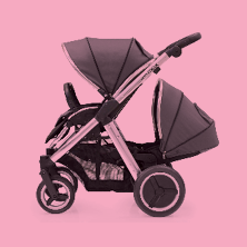 Single to double pushchairs