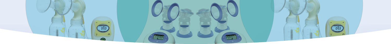 Electric double breast pumps