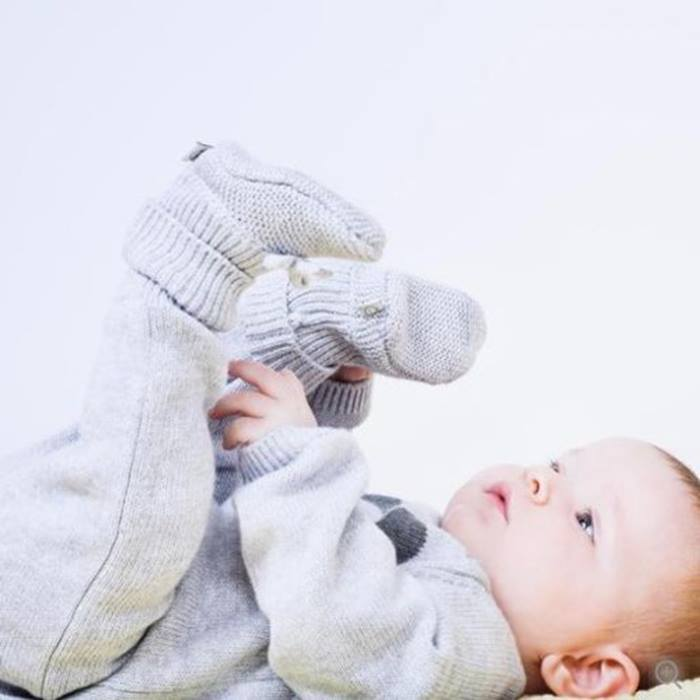 Baby Mori - Knitted Booties