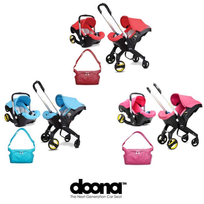 Doona Infant Car Seat / Stroller With Changing Bag