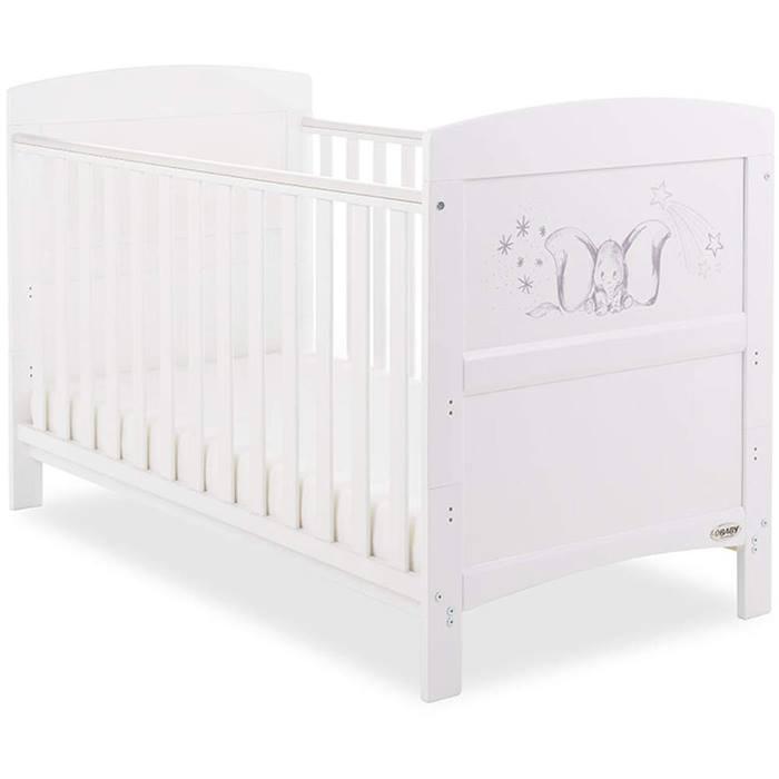 OBaby Disney Inspire Cot Bed (Dumbo Sketch)