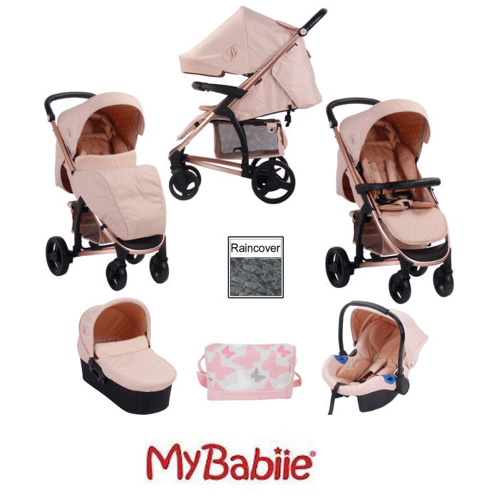 My Babiie MB200+ *Billie Faiers Collection* Travel System & Carrycot Bundle
