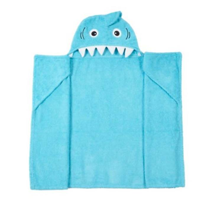 ASDA-Shark Hooded Towel
