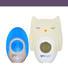 BT 350 Grobag Egg Thermometer and Night Light + Egg Shell (Orla)