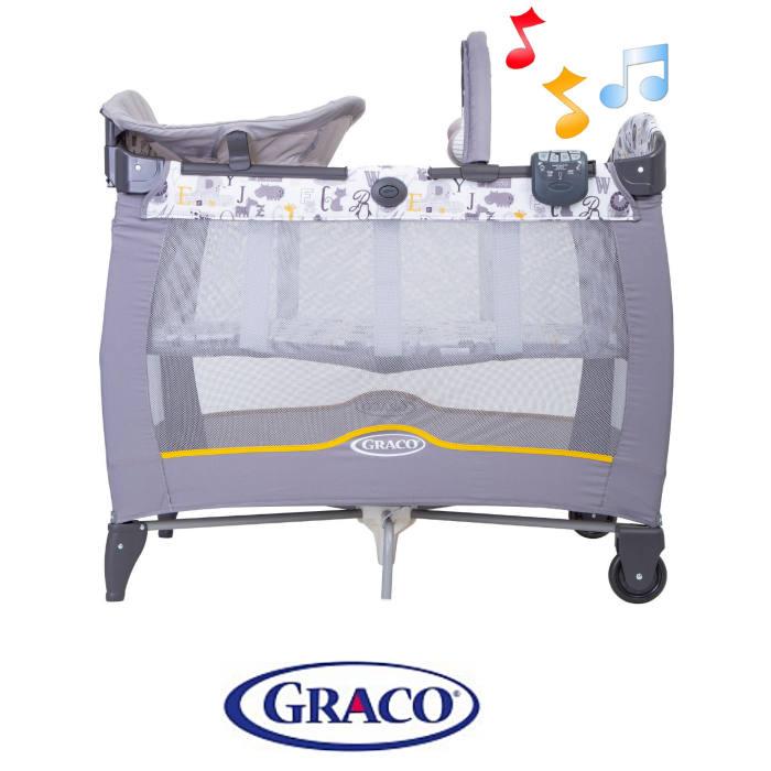 Graco Contour Electra Bassinet Travel Cot - ABC