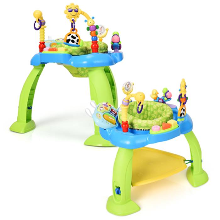 Interactive Jumperoo Sit-to-Stand Bouncer Chair - 2 Colours
