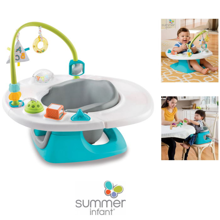Summer Infant Deluxe 4 in 1 Superseat Baby Chair