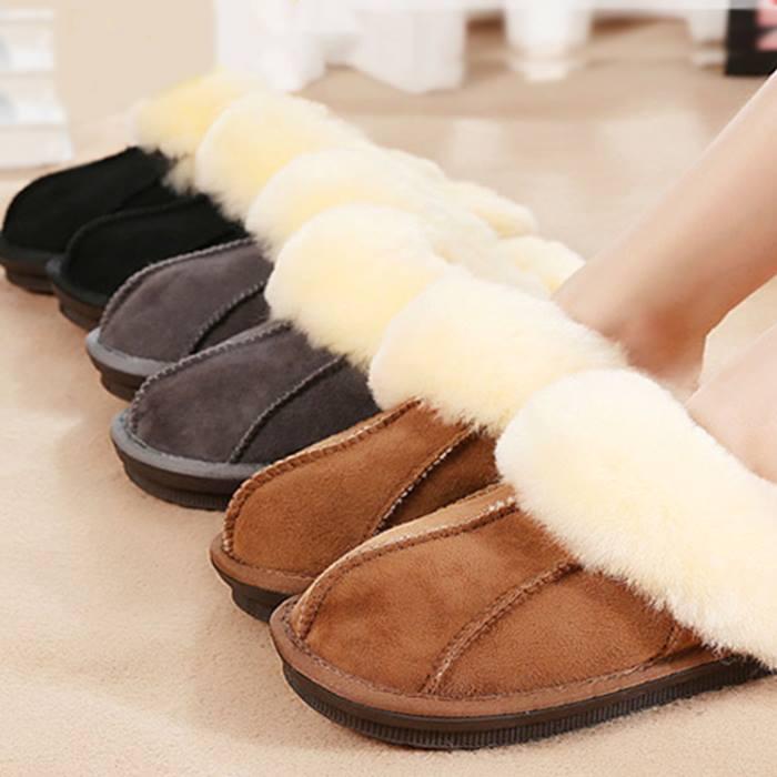 Luxury Sheepskin Slippers - 3 Colours & 5 Sizes