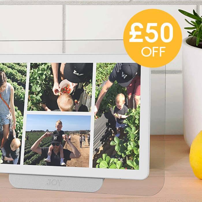 Joy: The digital photo album designed for families