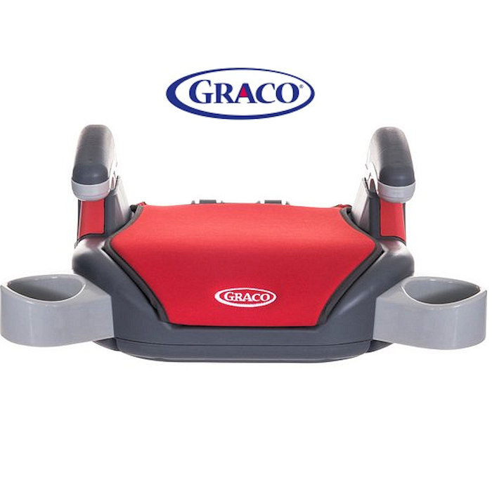 Graco Group 3 Child Booster Seat Pompeian Red