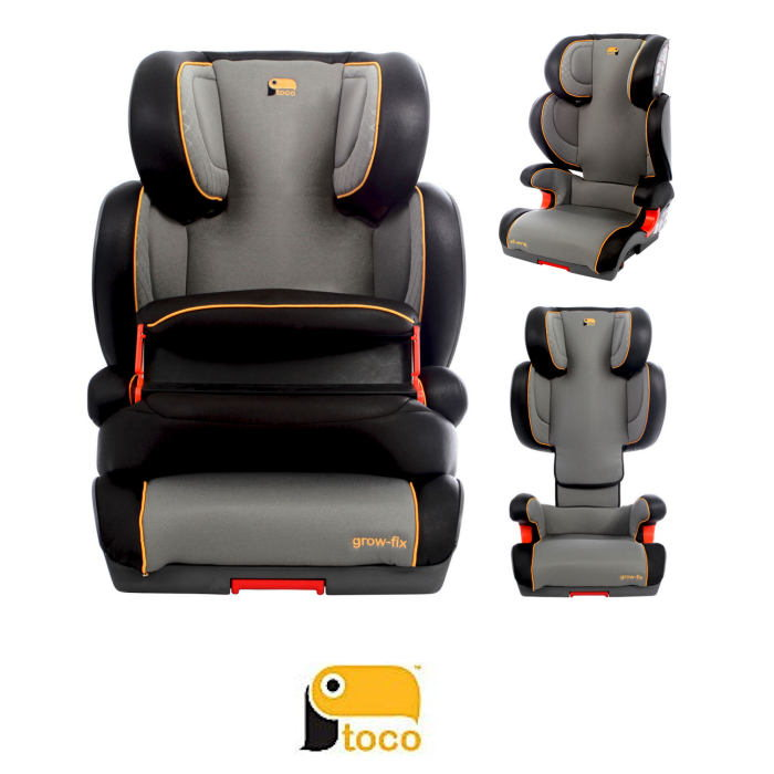 Toco Growfix Group 123 ISOFIT Adjustable Car Seat