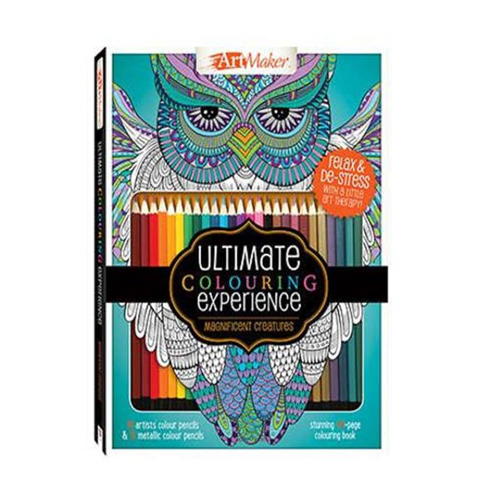 The Works - Colouring Books