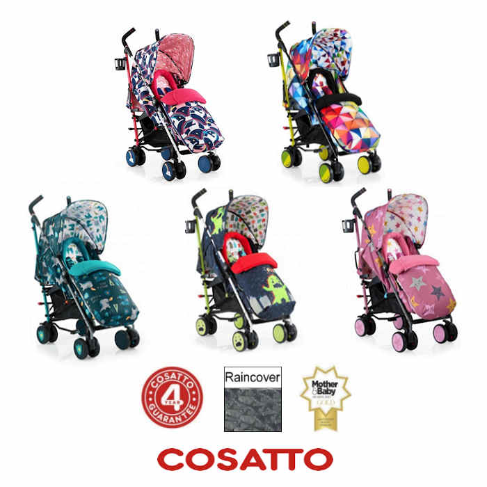 Cosatto Supa Pushchair Stroller new