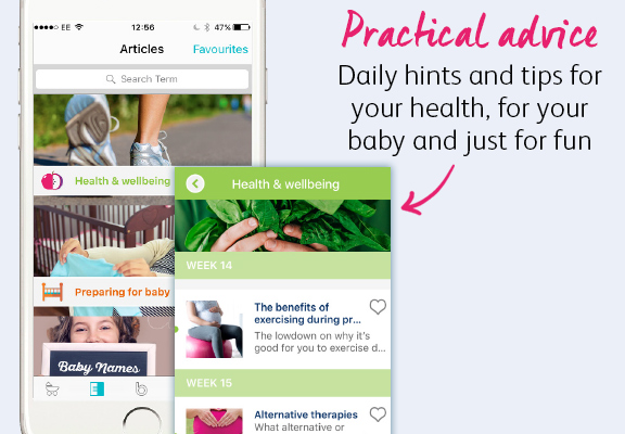 Practical advice  - Daily hints and tips for you and you baby