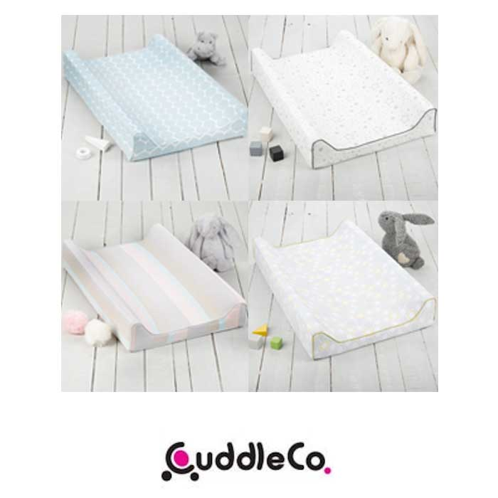 Cuddle Co Comfi-Love Luxury Memory Foam Soft Bamboo Designer Changing Mat