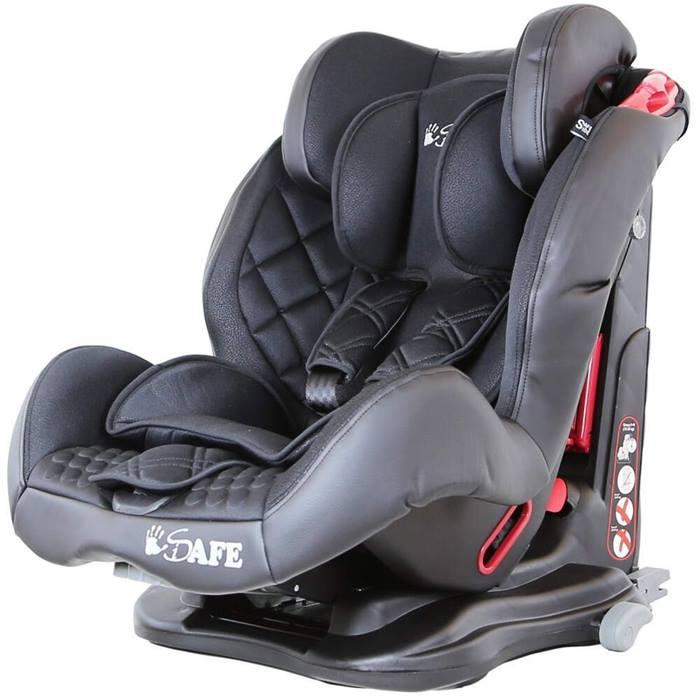 iSafe ISOFIX Duo Trio Plus Car Seat (Raven Black)