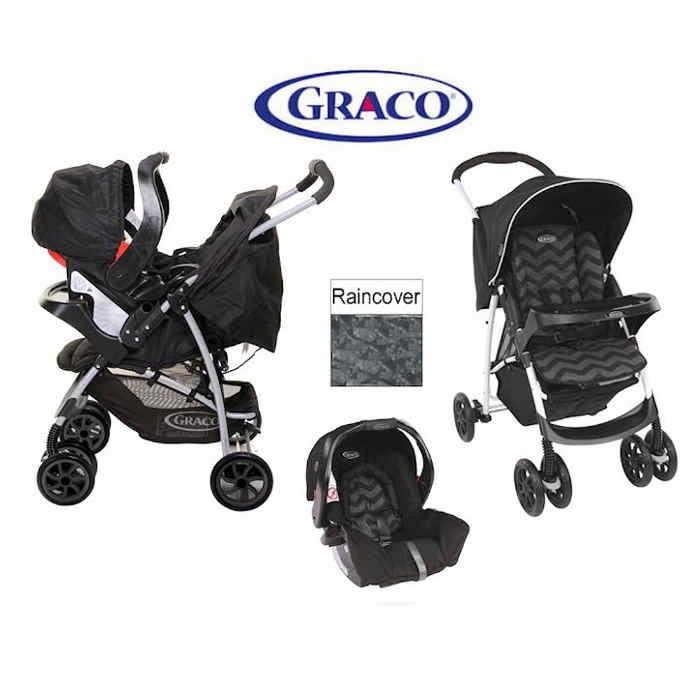 Graco Mirage Travel System Zig Zag - Bounty