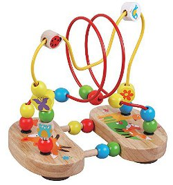 Wooden bead puzzle Jojo Maman Bebe 250