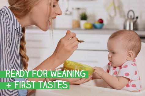 Ready for weaning