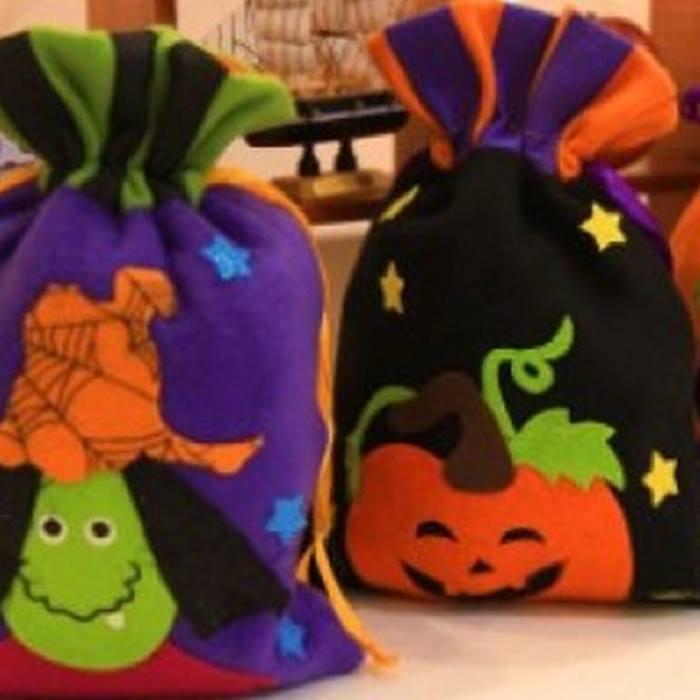 Halloween Drawstring Pouch - 4 Designs