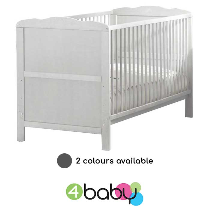 4baby Kareena Cot Bed & Deluxe Eco Fibre Mattress