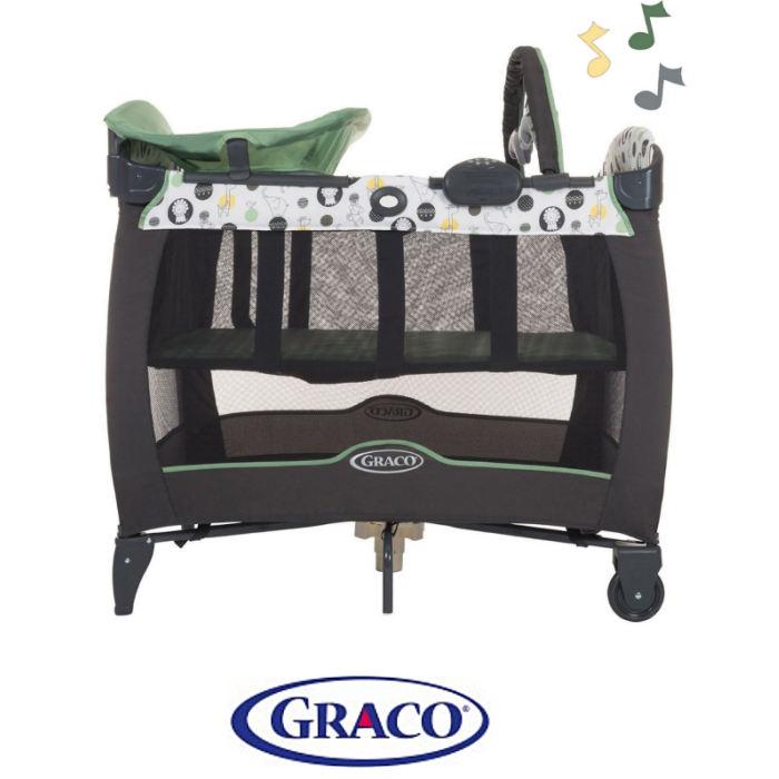 Graco Contour Electra Travel Cot Bassinette - Balancing Act