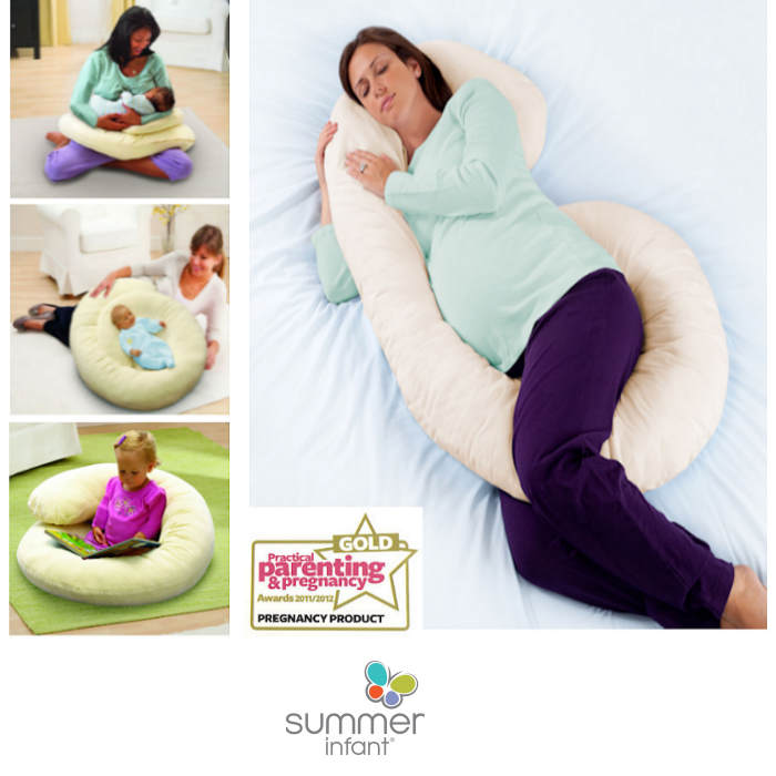 Summer Infant Ultimate 4 In 1 Large Body Comfort Nursing & Pregnancy Pillow
