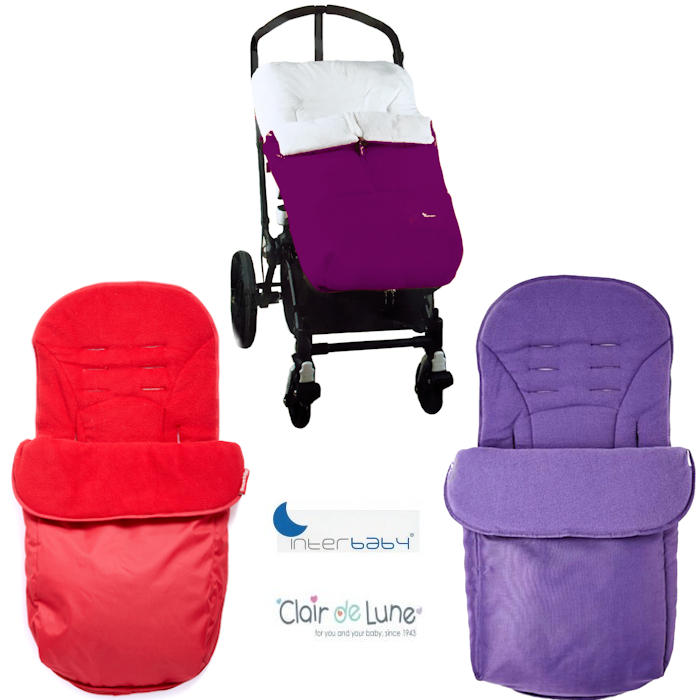 Plush Pushchair Polar Cocoon Footmuff