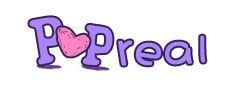 Popreal logo