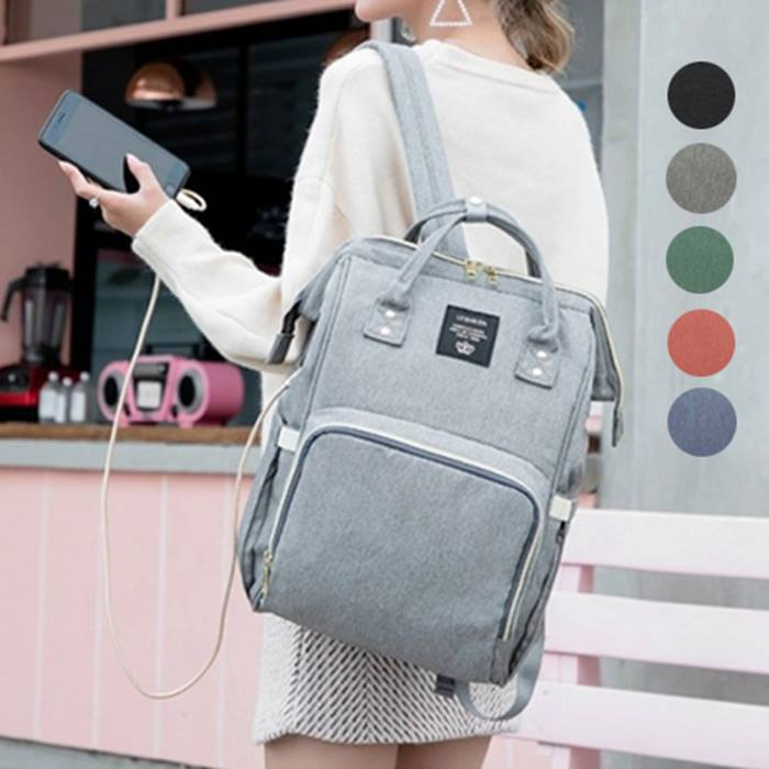 Baby Changing Bag with USB