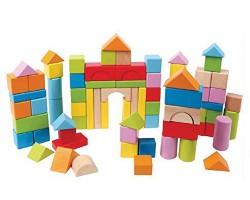 Beech wood building blocks