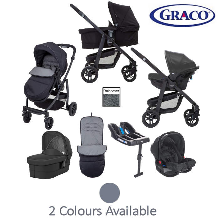 Graco Evo Travel System With Carrycot Base