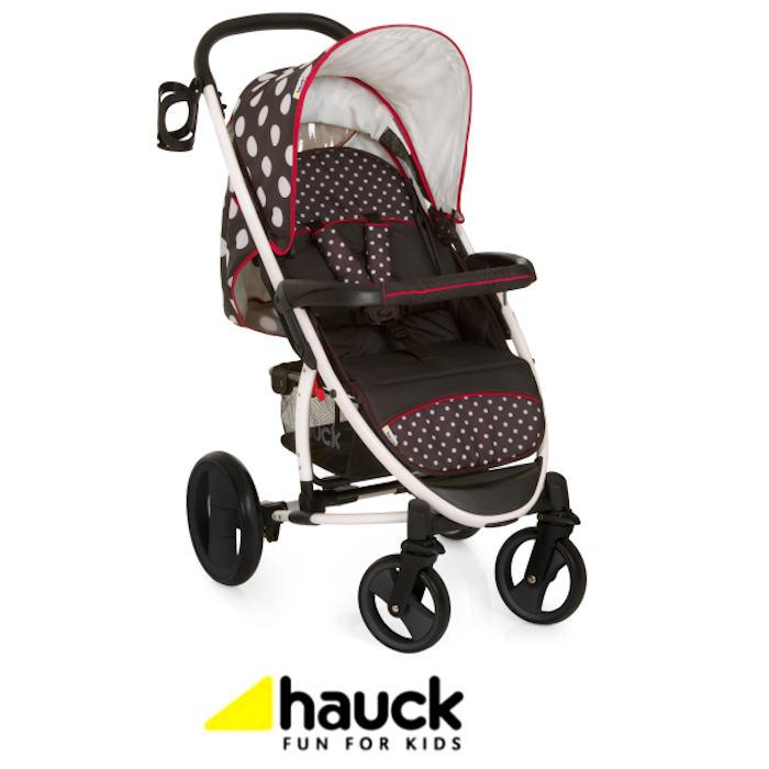 Hauck Malibu XL Lightweight Pushchair - Dots
