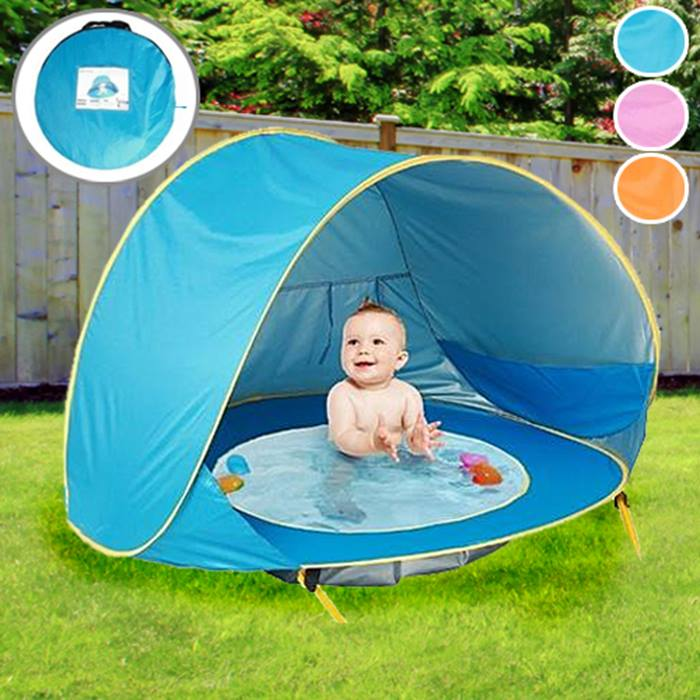 Waterproof Babies' Pool Play Tent - 3 Colours