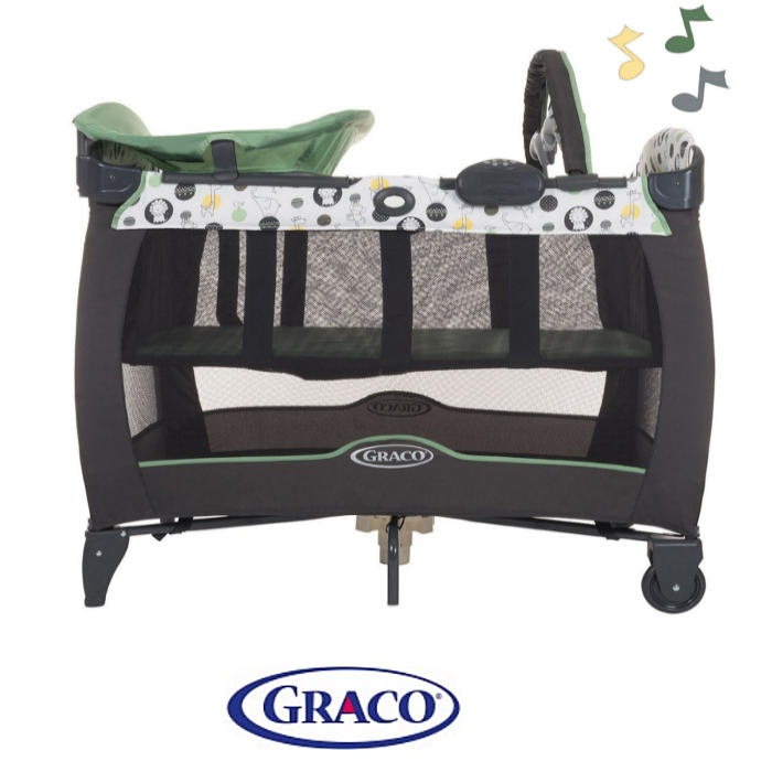 Graco Contour Electra Travel Cot Bassinette