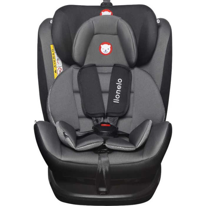 Lionelo Bastiaan 360 Isofix Group 0+/1/2/3 Car Seat (Grey/Black)