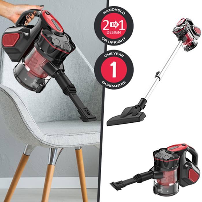 VYTRONIX 3-in-1 Handheld Cyclonic Vacuum Cleaner - 1-Year Guarantee!