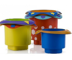 Nuby stacking cups 250