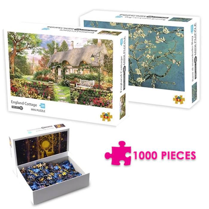 1000 Piece Landscape Puzzle 5 Designs