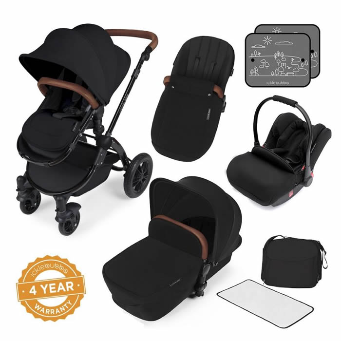 ickle-bubba-stomp-v3-black-frame-all-in-one-travel-system-black