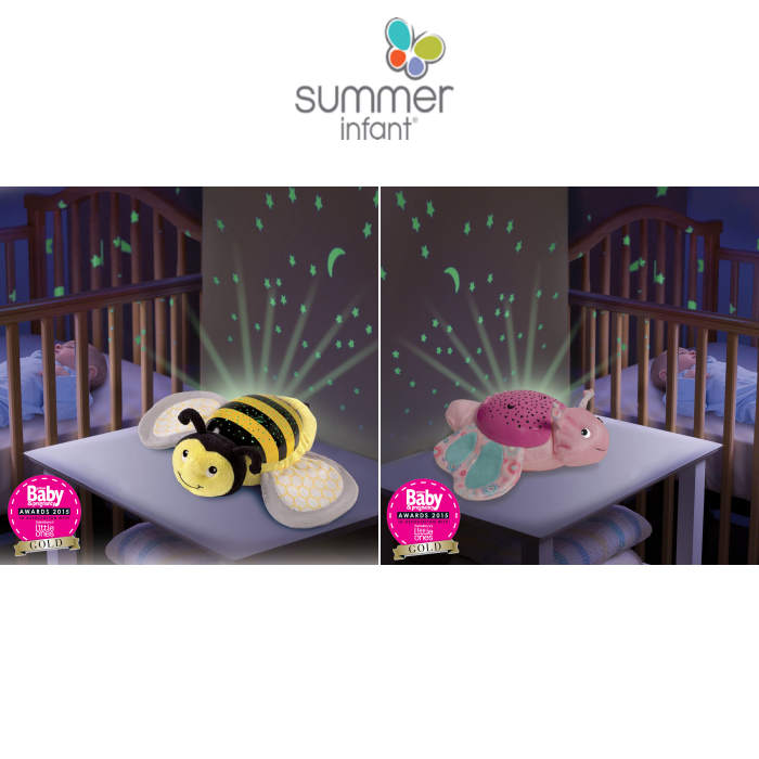 Summer Infant Deluxe Slumber Buddies Nightlight Projector