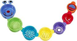 Munchkin Caterpillar Spillers Bath Cups and Toys 250