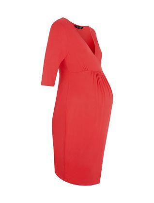 Newlook red maternity dress