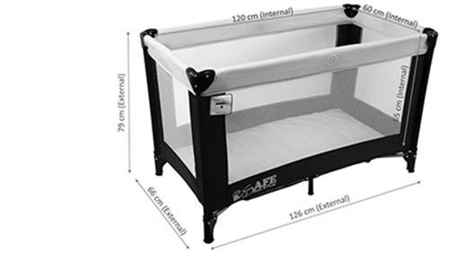 WIN 1 of 2 iSafe Rest & Play Travel Cots